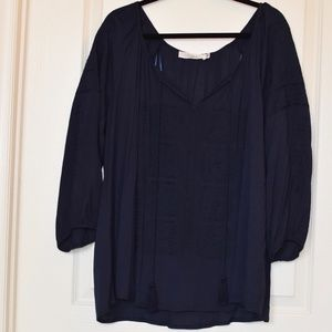 Beautiful Navy Blue Blouse